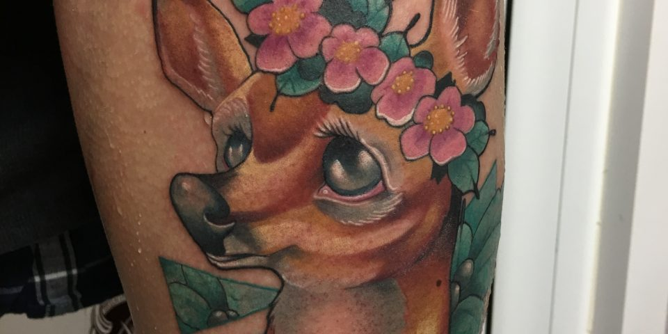 FAMILY ART TATTOO JAVISAE – BAMBI FLORES