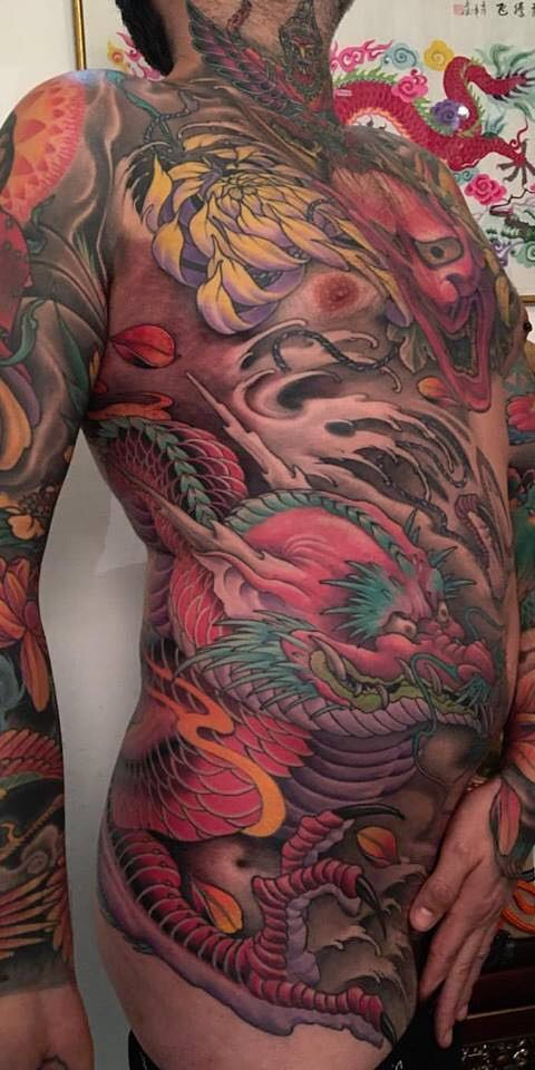 FAMILY ART TATTOO NICKLAS WESTIN – DRAGON JAPANES STYLE – JAPONES