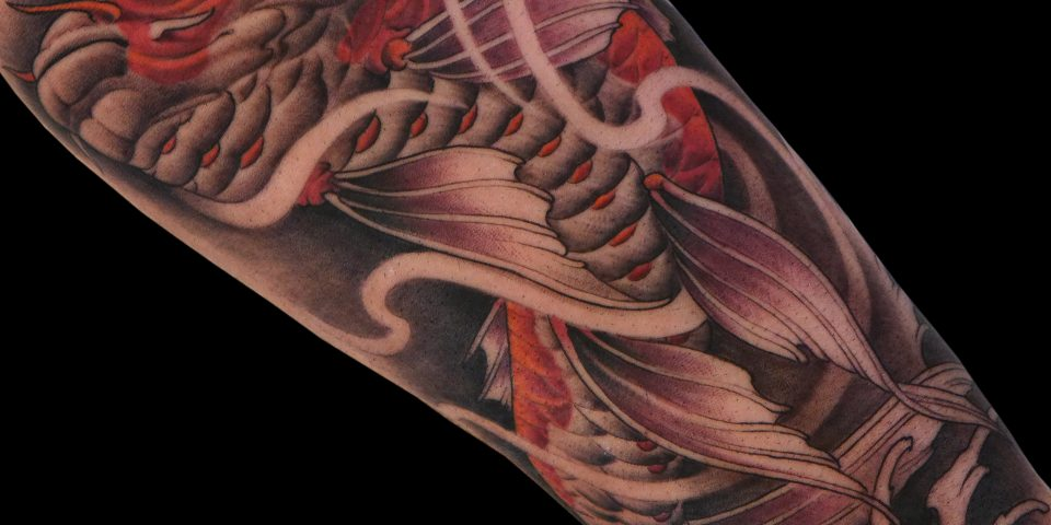 FAMILY ART TATTOO NICKLAS WESTIN – KOI CARPA – JAPONES