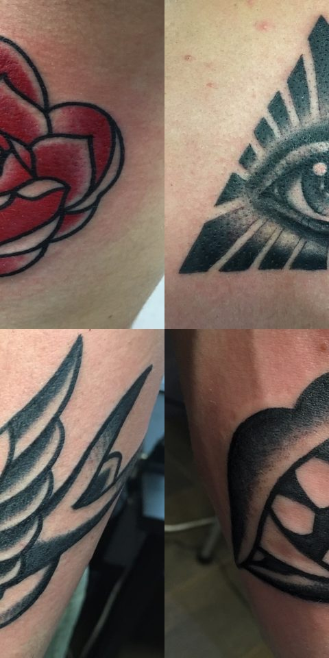 FAMILY ART TATTOO WALK-IN – ROSA GOLONDRINA DRACULA