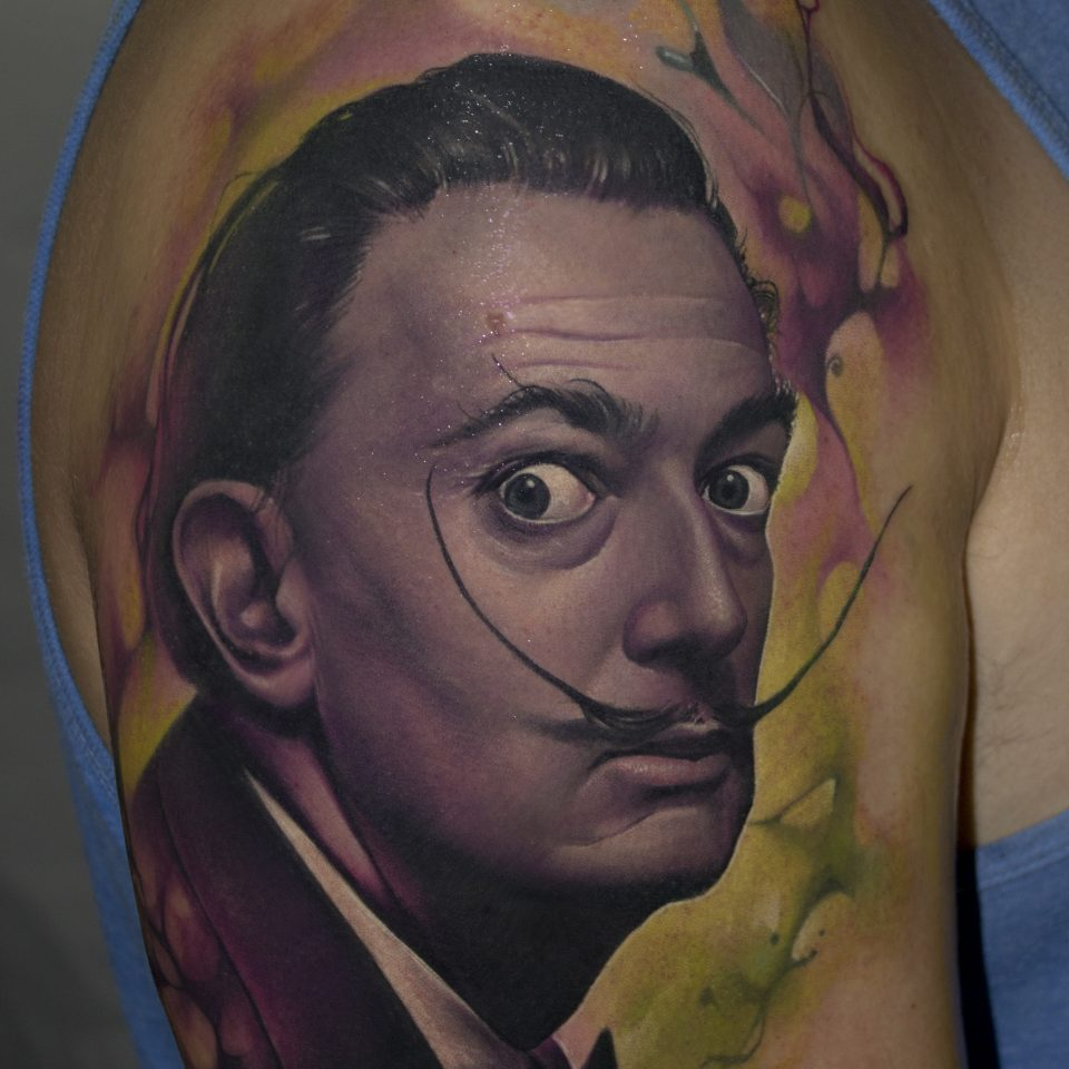 FAMILY ART TATTOO VICTOR CHIL – dali tattoo