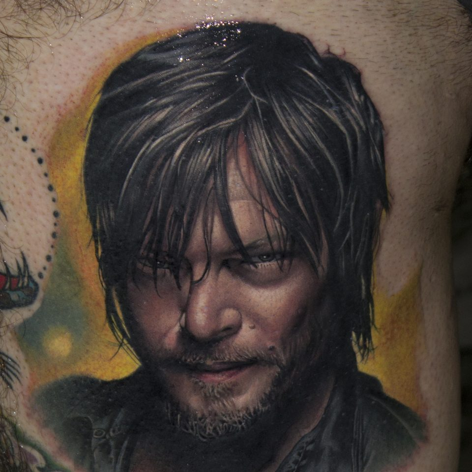 FAMILY ART TATTOO VICTOR CHIL – daryl dixon