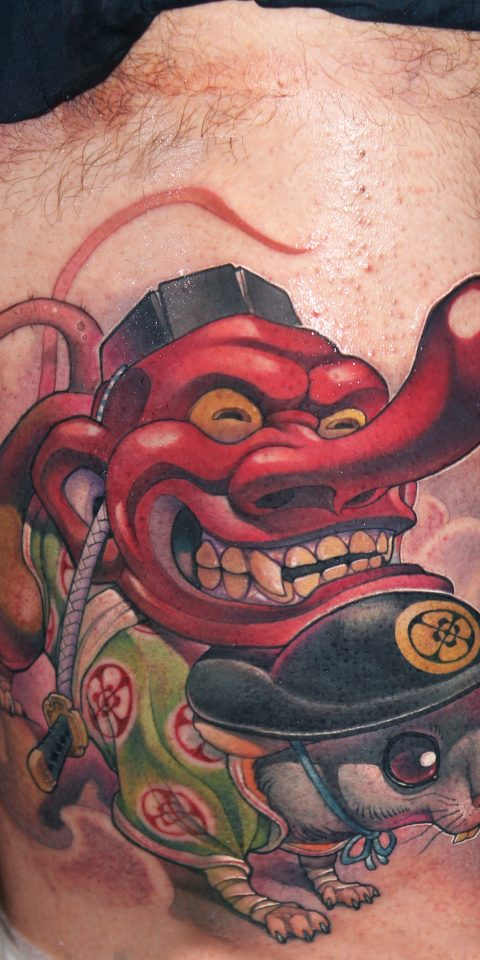 FAMILY ART TATTOO VICTOR CHIL – ratatengu – JAPONES