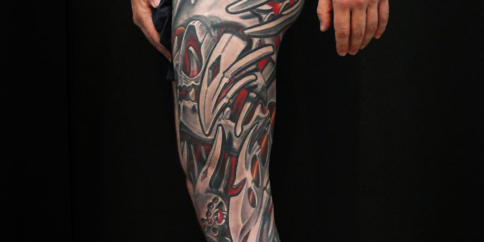 tattoo Barcelona – Biomecanico – Family Art Tattoo – 14