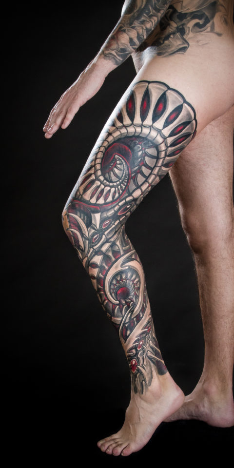 tattoo Barcelona – Biomecanico – Family Art Tattoo – 2